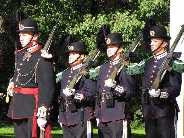 Norwegian Royal Guards