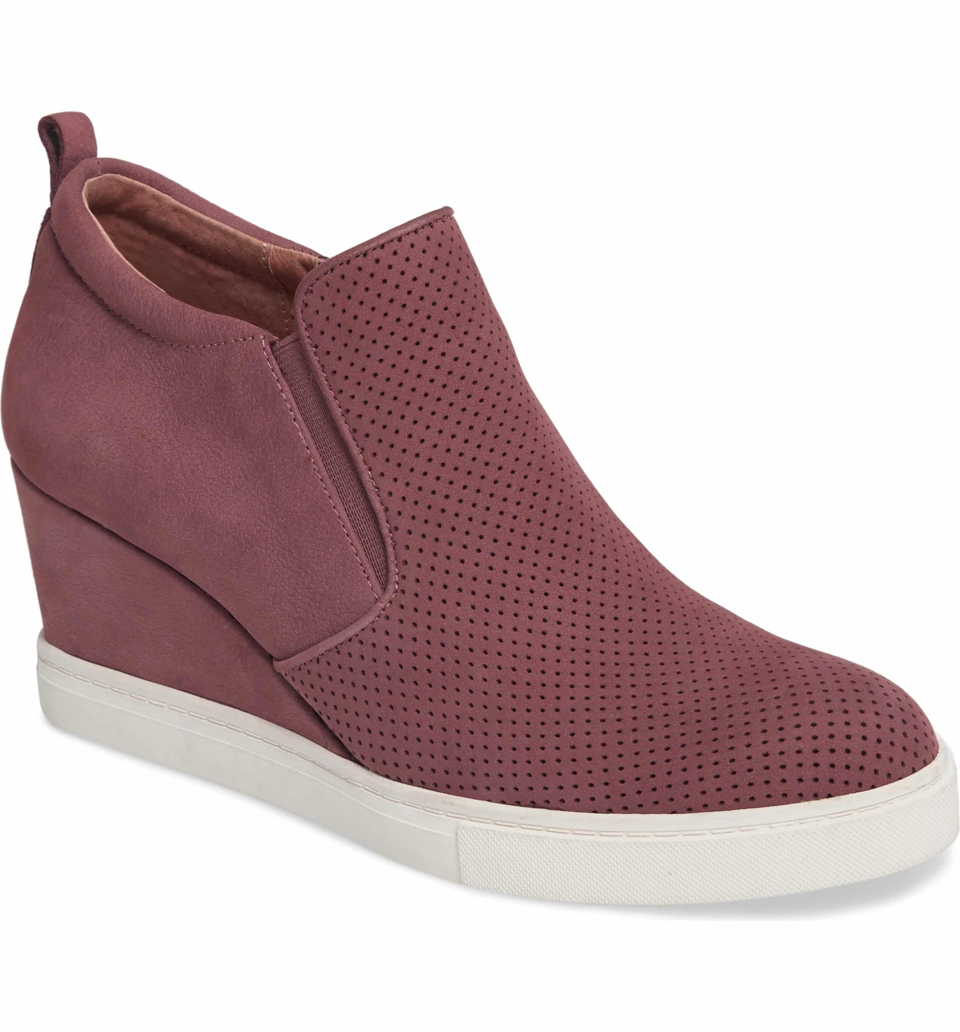 Caslon Aiden Wedge Sneaker, Main, color
