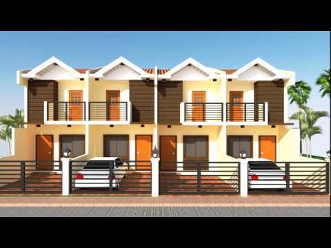 2 Storey Apartment Apartments Exterior Townhouse Designs