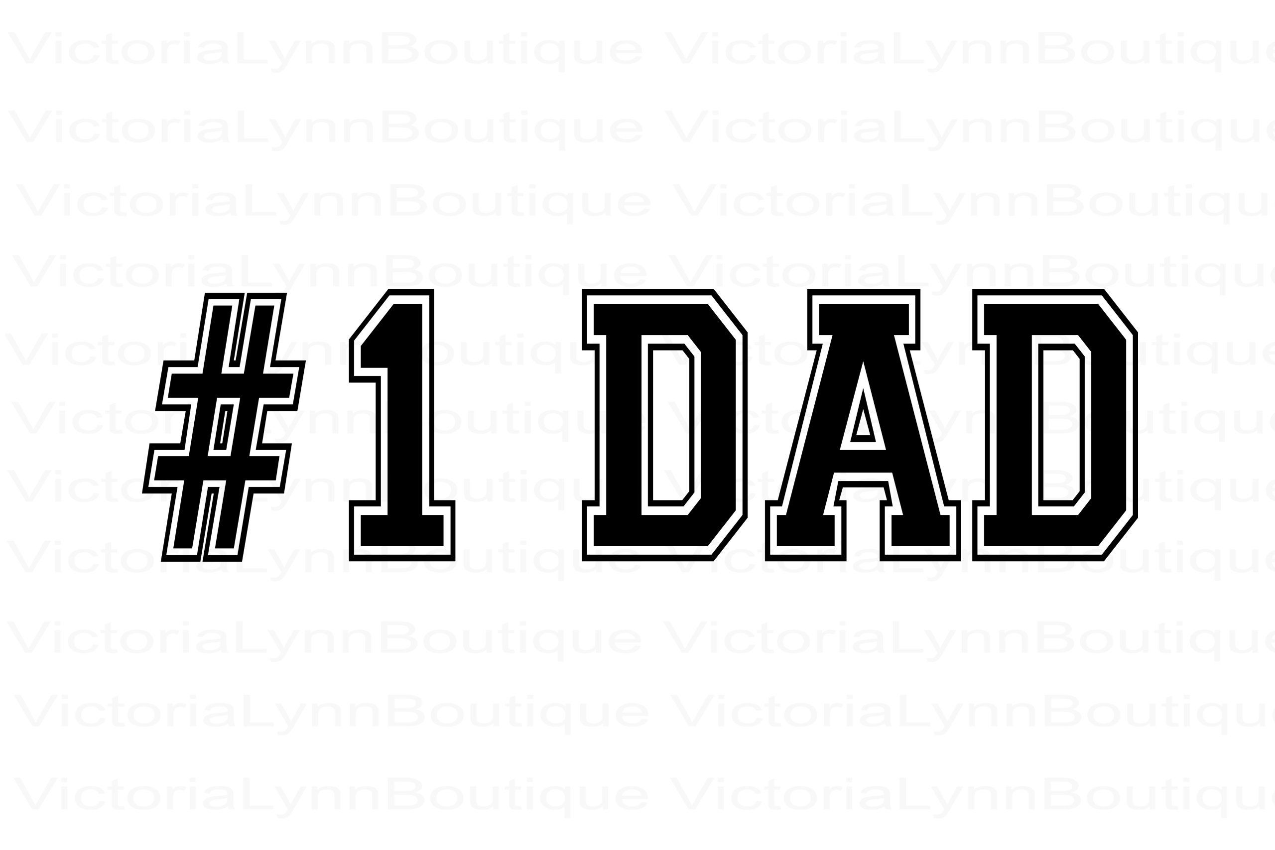 Number 1 Dad In The World For Sublimation Printing Png File 1 Dad Design Family Png Instant Digital Download Tshirt Sublimation Printing Dad Day Sublime