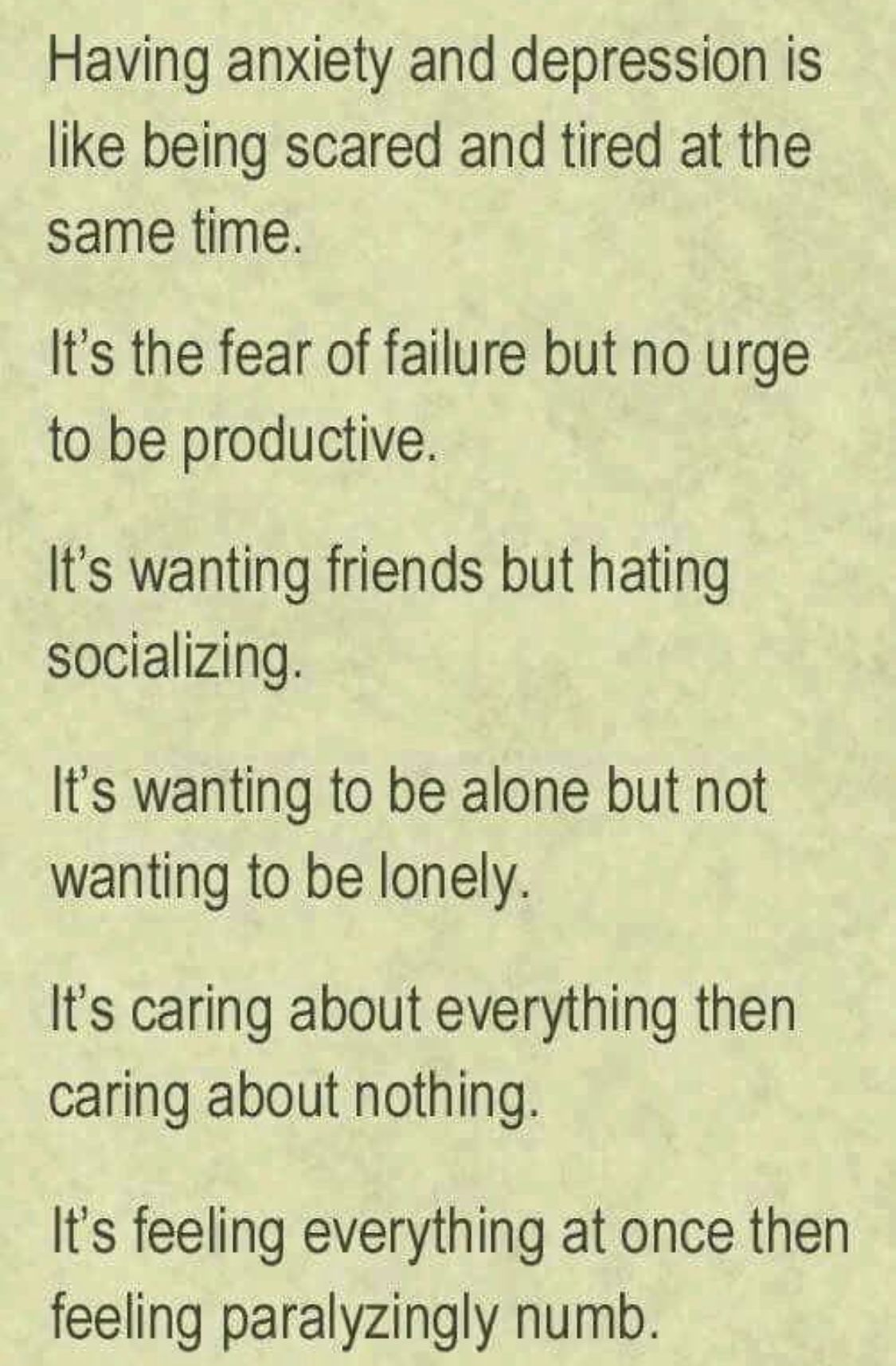 Pin by Amy Meadows on Fibro | Wanting to be alone ...