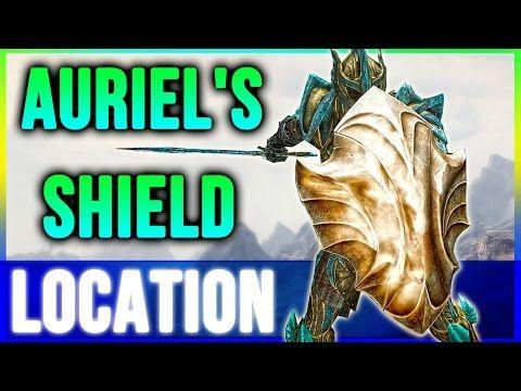 Skyrim Secrets Best Armor - Aureal's Shield Location Walkthrough - YouTube