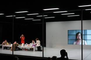 Jan Versweyvekd Misantrop Moliier Dir Ivo Van Hove Set Design Theatre Ivo Van Hove Scenic Design