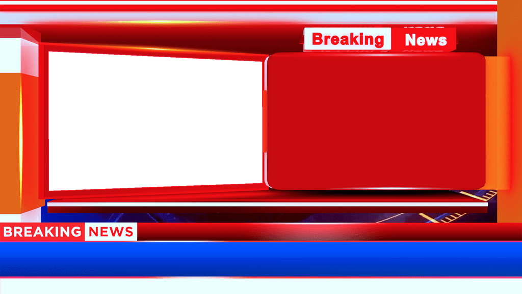 Breaking News Bumper Adobe Premiere Template, Download Png