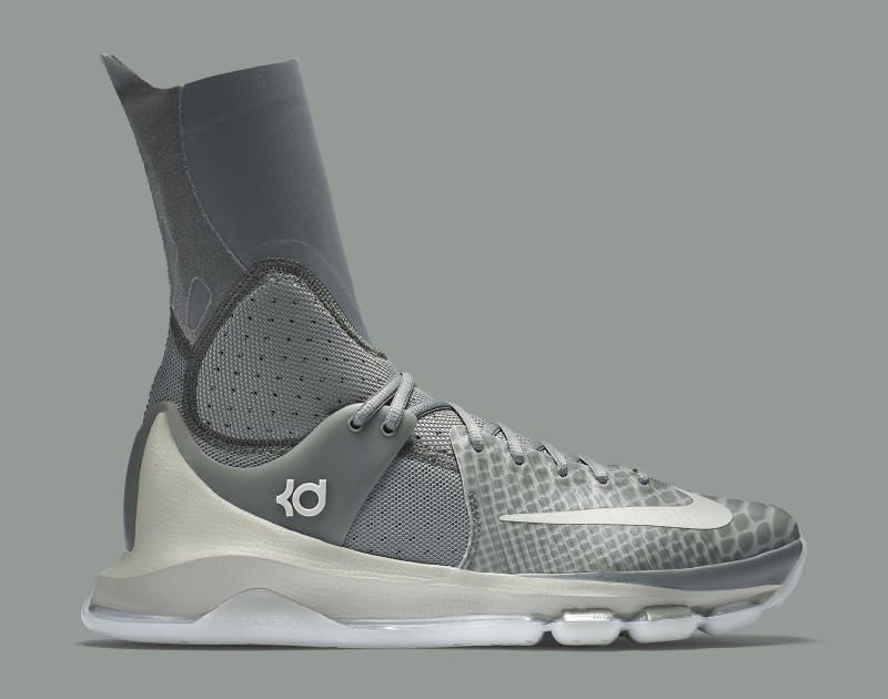 detailed pictures 79cb9 8ae27 Nike KD 8 Elite Wolf Grey Snakeskin | Solecollector | NBA ...