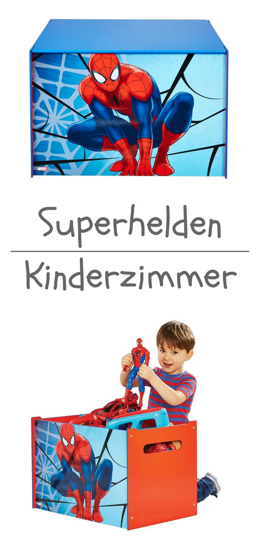 Werbung | Spider-Man - Spielzeugkiste für Kinder – Aufbewahrungsbox ...