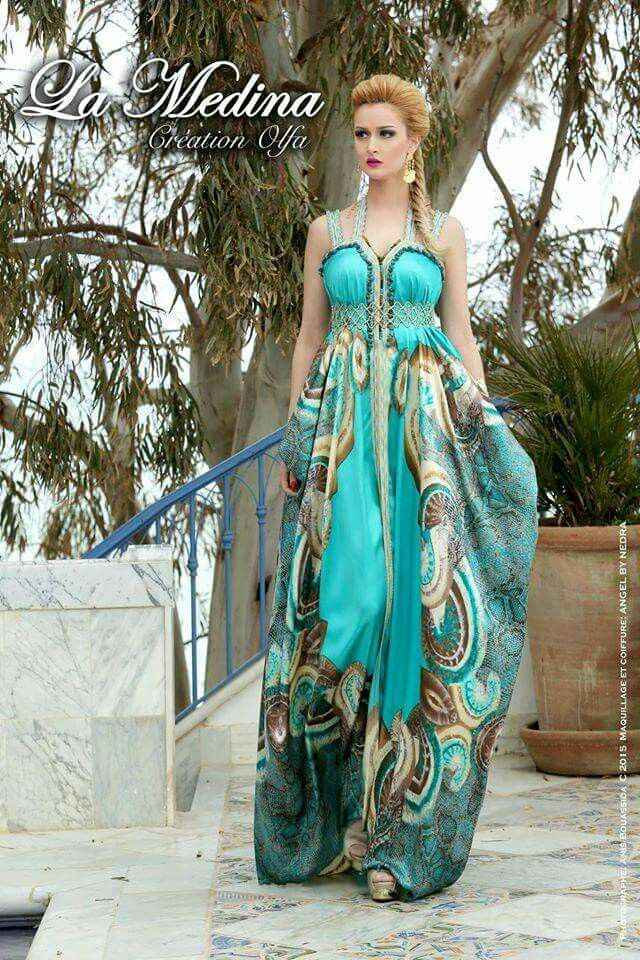 Pin by Nelia Naldi on Azul esverdeado/Verde azulado/Azul-Verde | Pinterest  | Kaftan, Caftans and Amazing dresses