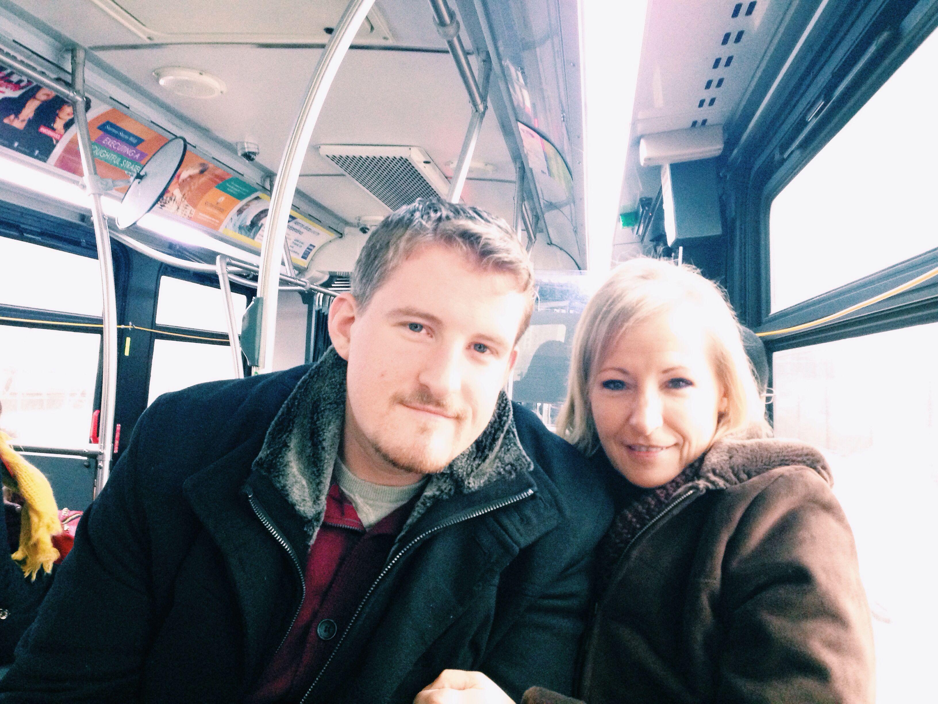 momma & brother // New York City // December 9, 2013