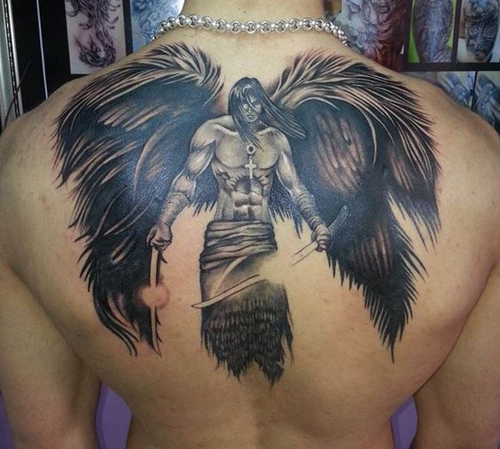 Angels Tattoos Photos - Best Tattoos In The World tattoos by jose