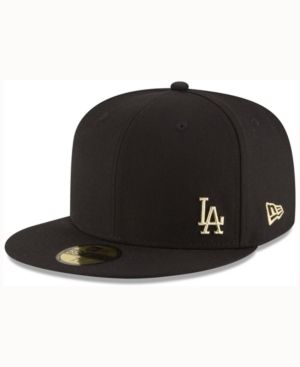 separation shoes bd067 0cec9 New Era Los Angeles Dodgers Flawless OGold 59FIFTY Cap - Black 7