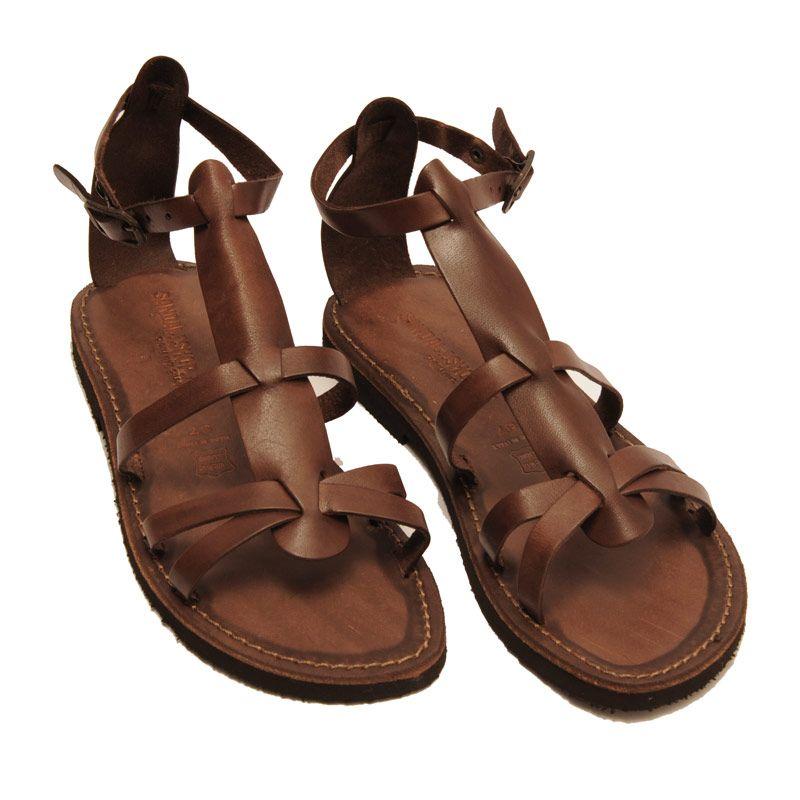 Sandalo milano marrone da donna