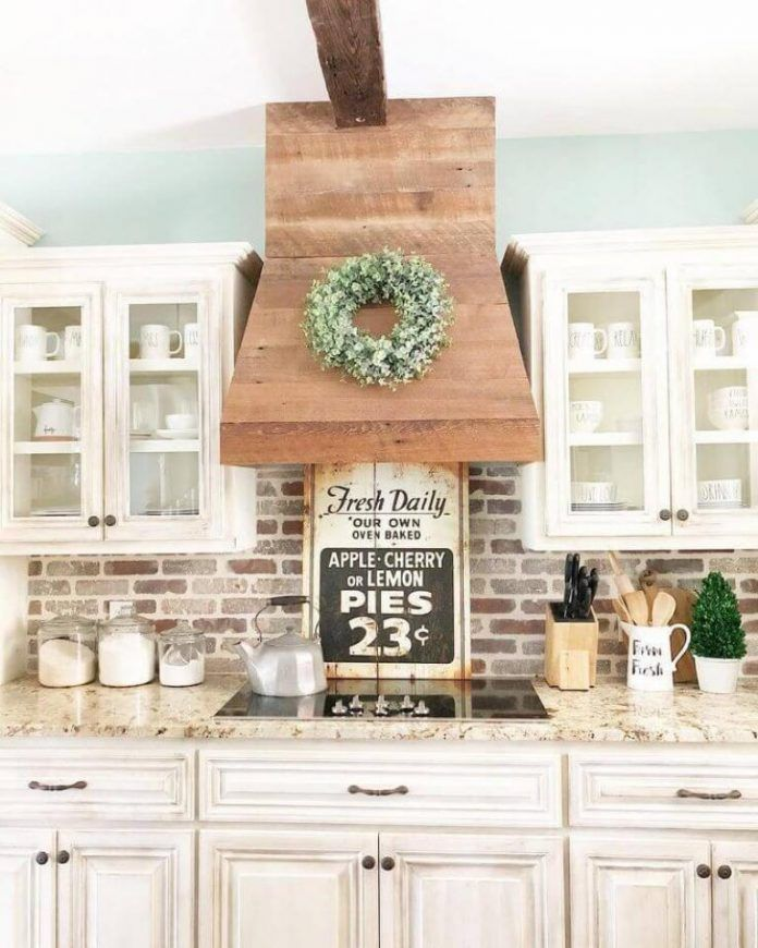 10+ Top Farmhouse Kitchen Cabinet Ideas