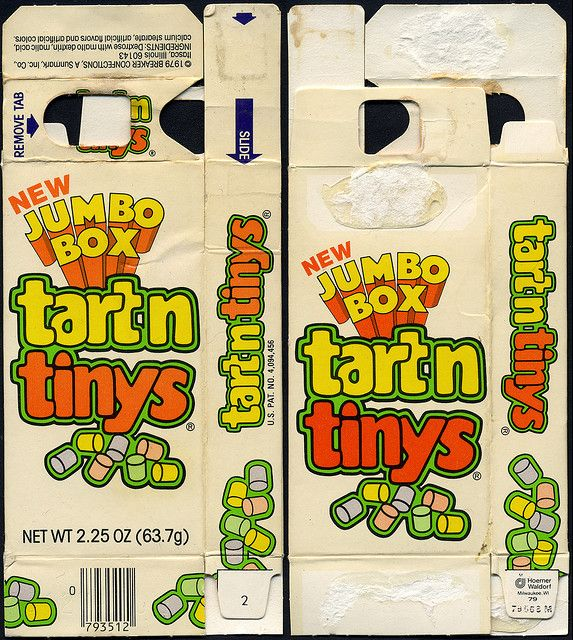 Anyone remember this candy from the 70's?? Tartntinys!