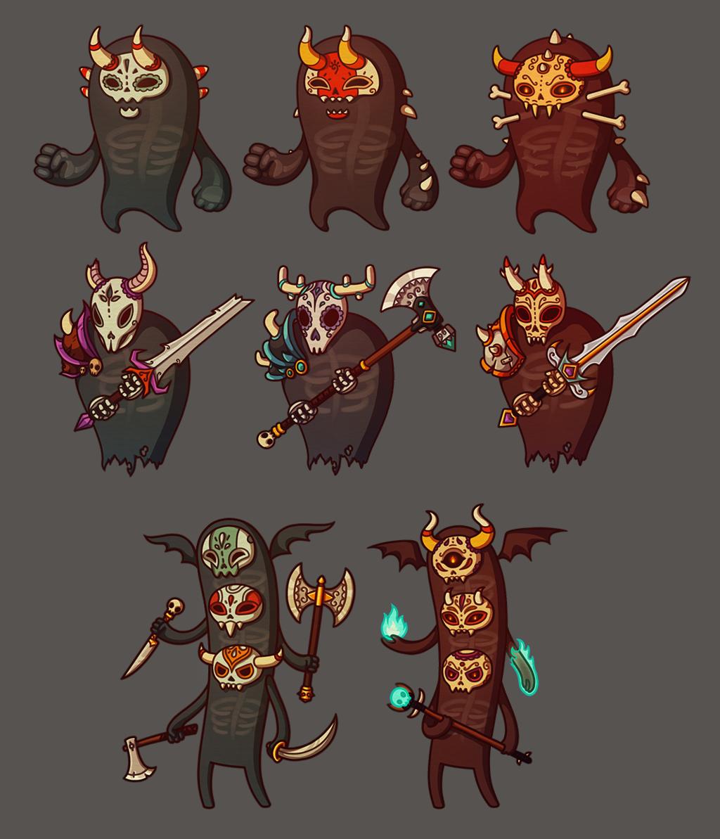 game enemies: Cemetery by irmirx
