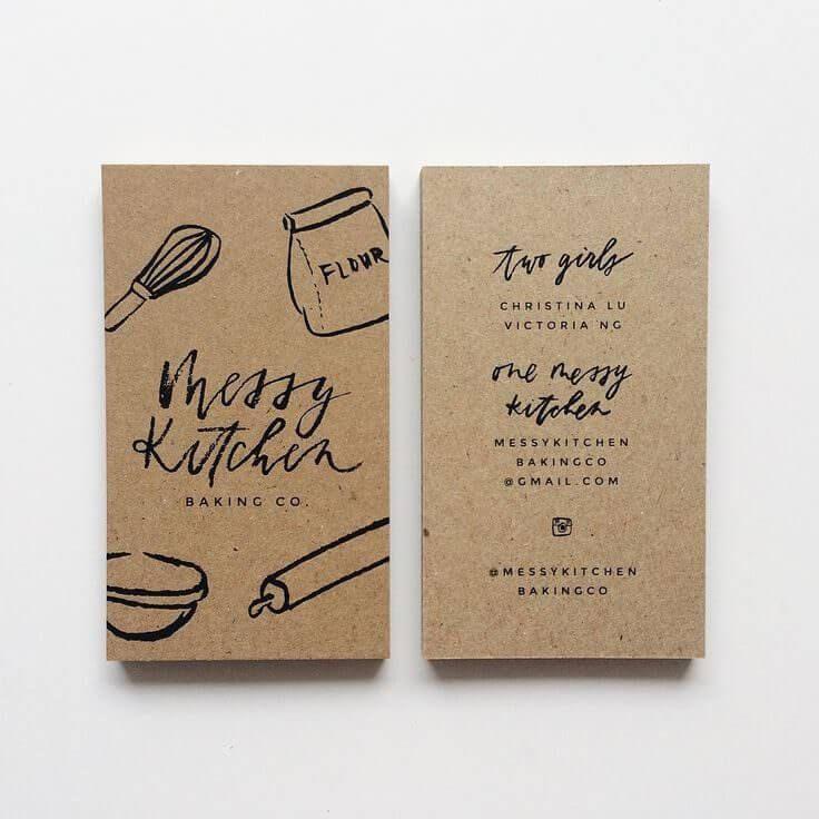 Messy Kitchen Drawing: 渡した相手に響く!効果的な名刺作成ポイント5個まとめ(参考デザイン例 / 無料テンプレート収録