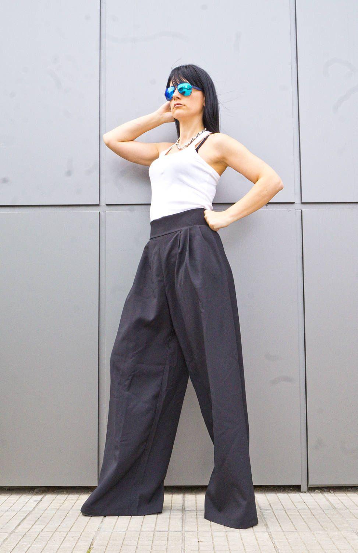 Black Long Cotton Pant Loose Casual Drop Crotch Harem Pants Women S Clothing Women Plus Size Pants Plus Size Clothing For Women Harem Pants Women Drop Crotch Harem Pants Pants For Women