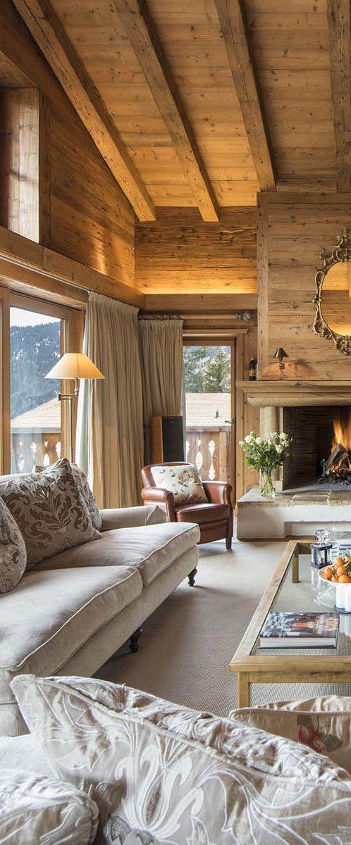 Rustic Living Room Interiors and Exterior Pinterest Living