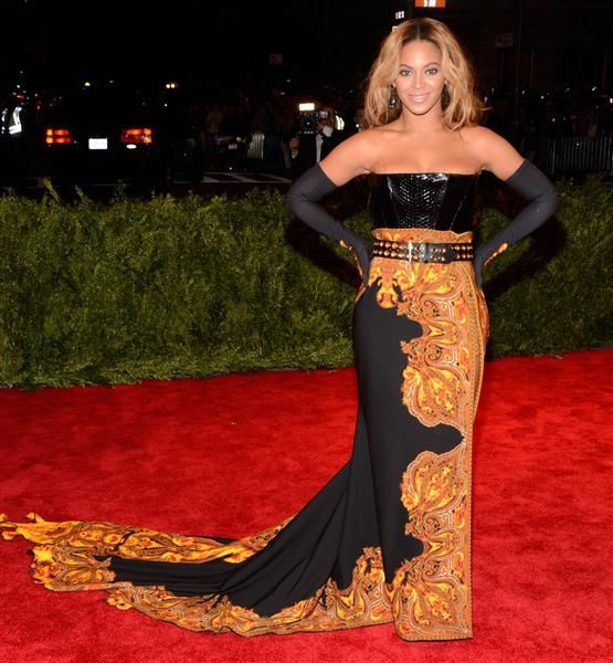Punk frock: The good, the rad and the very, very ugly at the 2013 Met gala - Beyonce