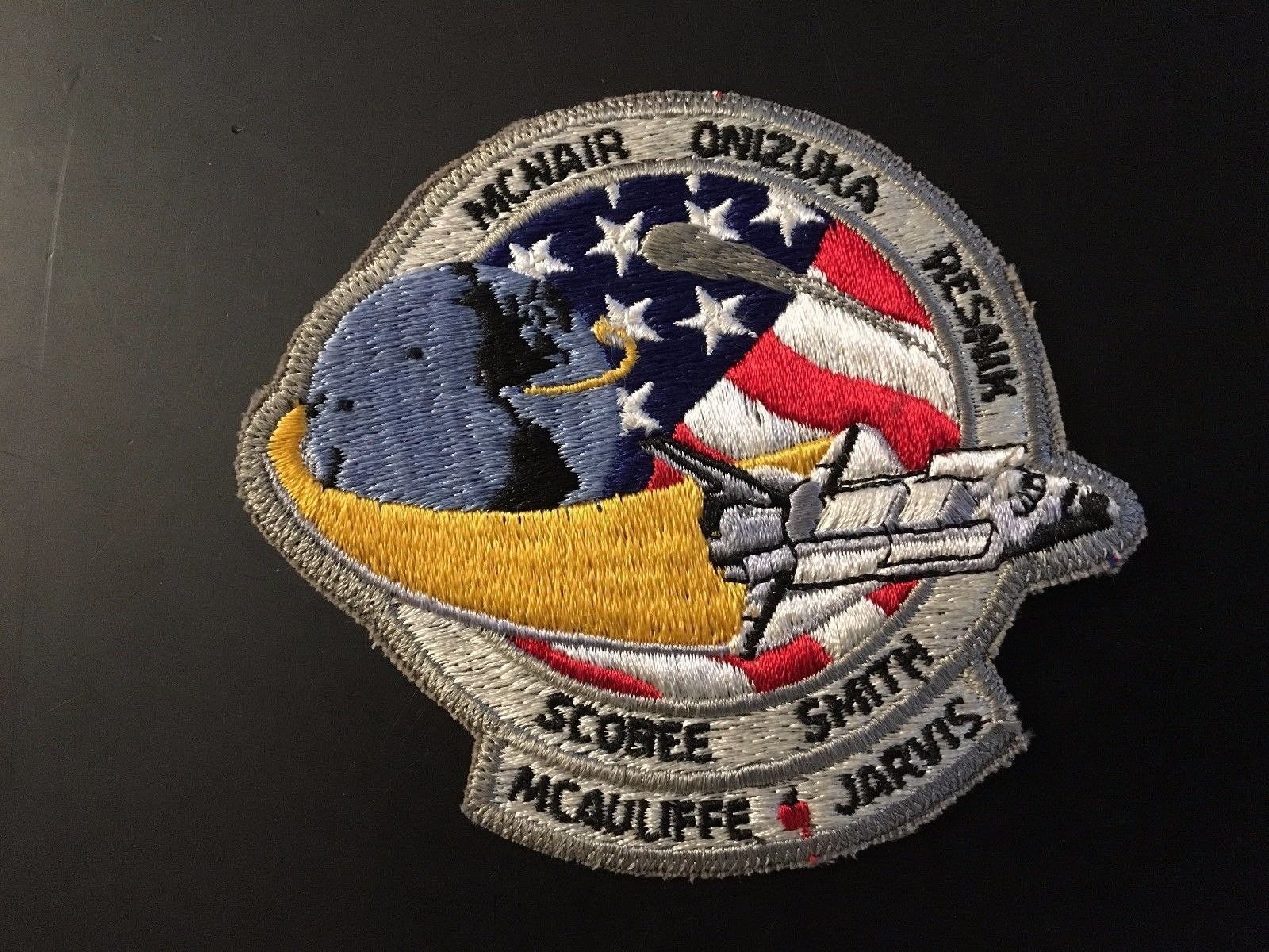 RARE HTF 1986 NASA Space Shuttle Challenger STS-51L Patch ...