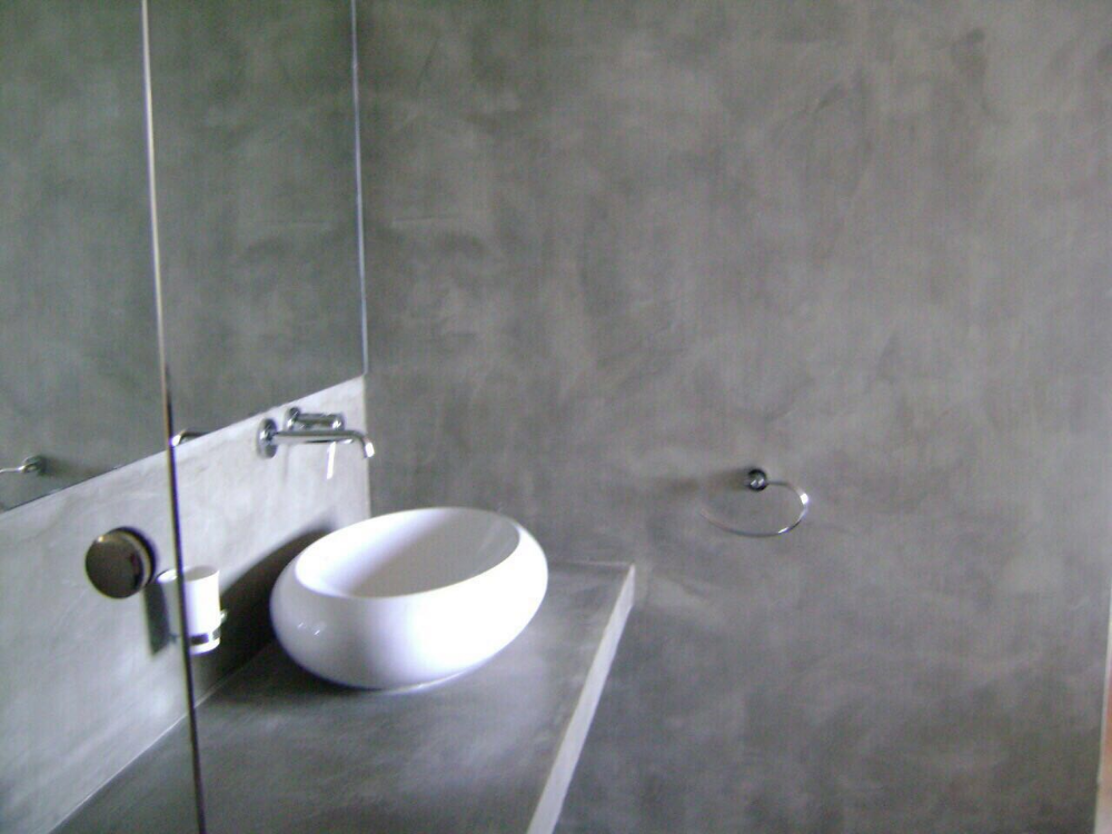 Titanium Finished Floor And Wall In Sri Lanka Wedabima Com Floor Finishes Concrete Bathroom Flooring