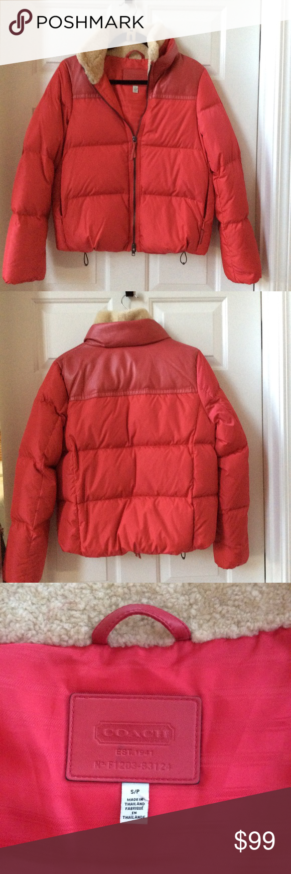 Coach Legacy Red Puffer Jacket Red Puffer Jacket Red Jacket Coach Legacy [ 1740 x 580 Pixel ]