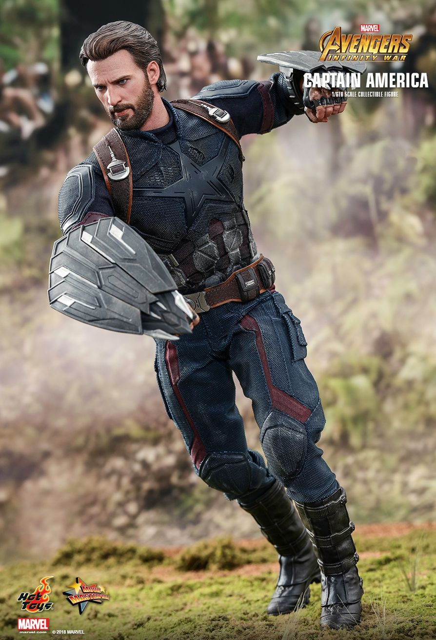 Hot Toys Avengers Infinity War Captain America 1 6th Scale