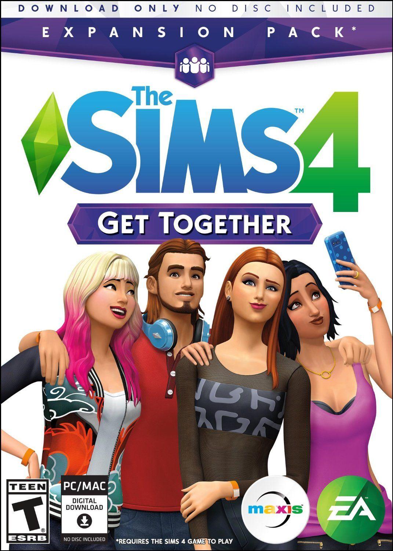the sims 4 con espansioni mac
