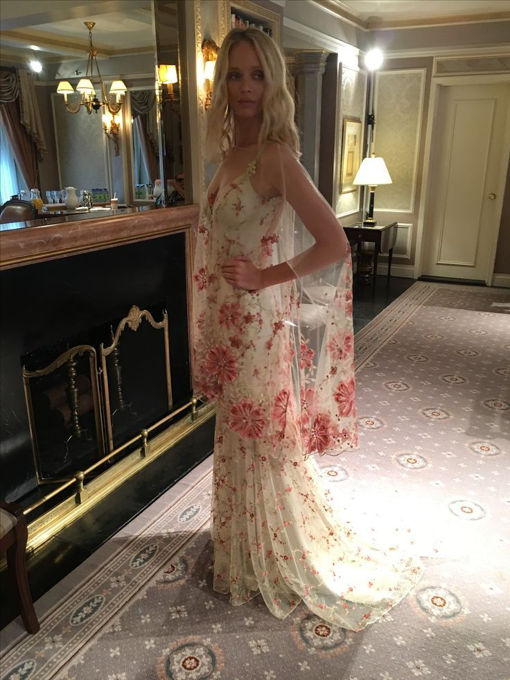 Maple wedding dress and tunic by Claire Pettibone The Four Seasons ...