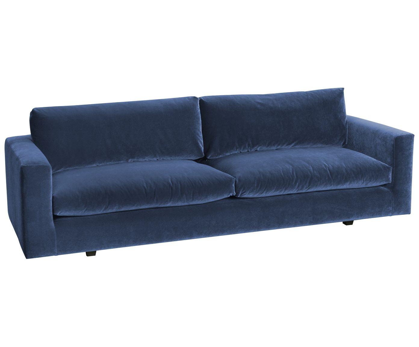 Samt-Sofa Balmira (3-Sitzer) | Samt Sofa, Sofa und Wohnzimmer