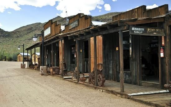Wickenburg Arizona Nella Meda Gold Mining Camp Where There Is A Complete Town And Hotel