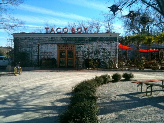 Taco Boy in Downtown Charleston may look rather rugged but we hear they have some great tacos