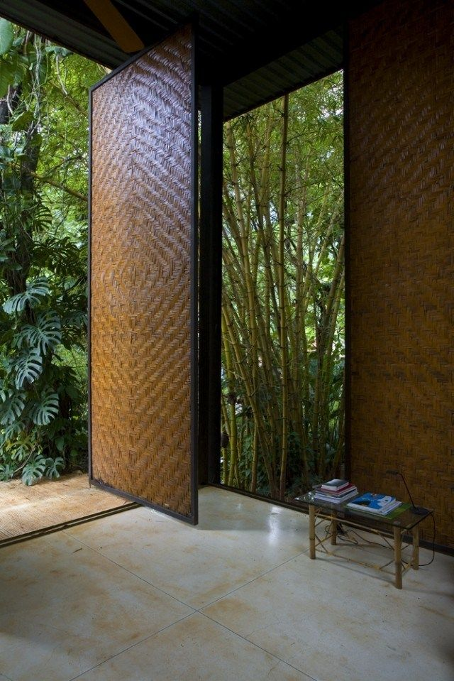 Check Out The Gorgeous Texture Of This Pivot Door In Brazil You