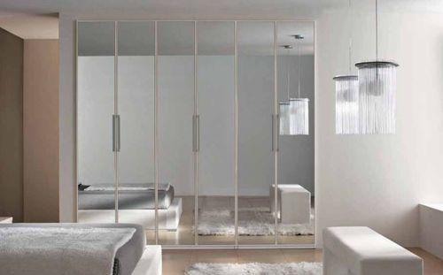 Marka mobili ~ Contemporary mirrored wardrobe a marka industria mobili