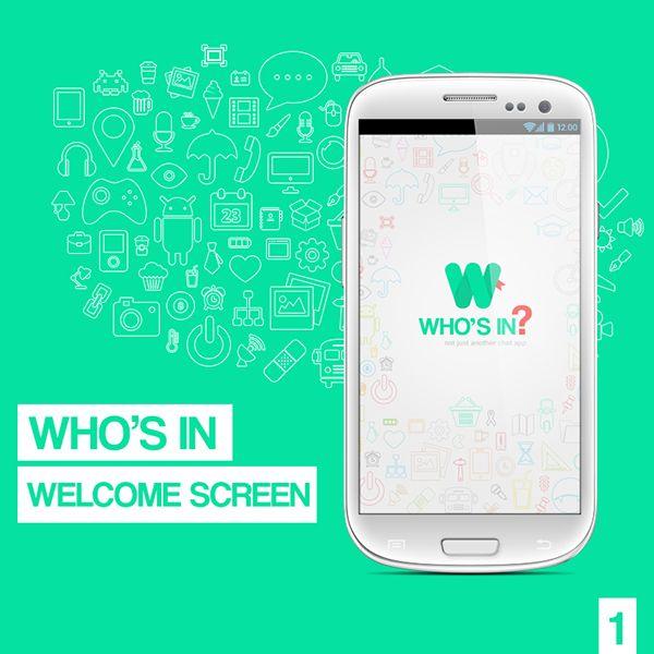 who's in app branding on Behance