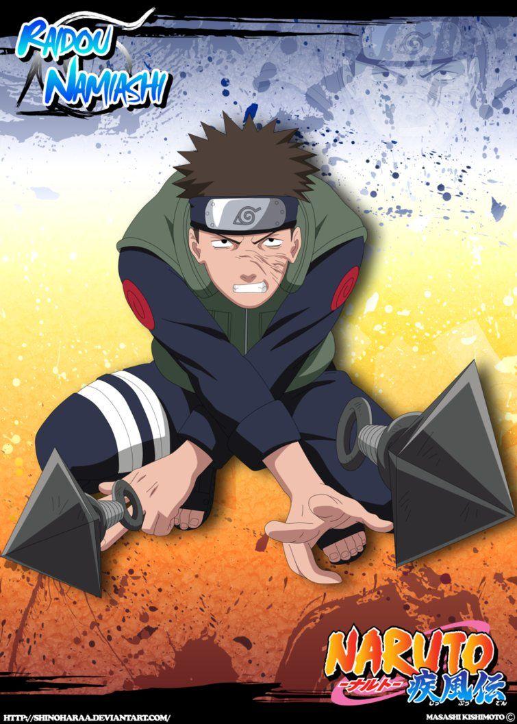Raidou Namiashi Naruto Shippuden Characters Naruto Art Naruto The Movie