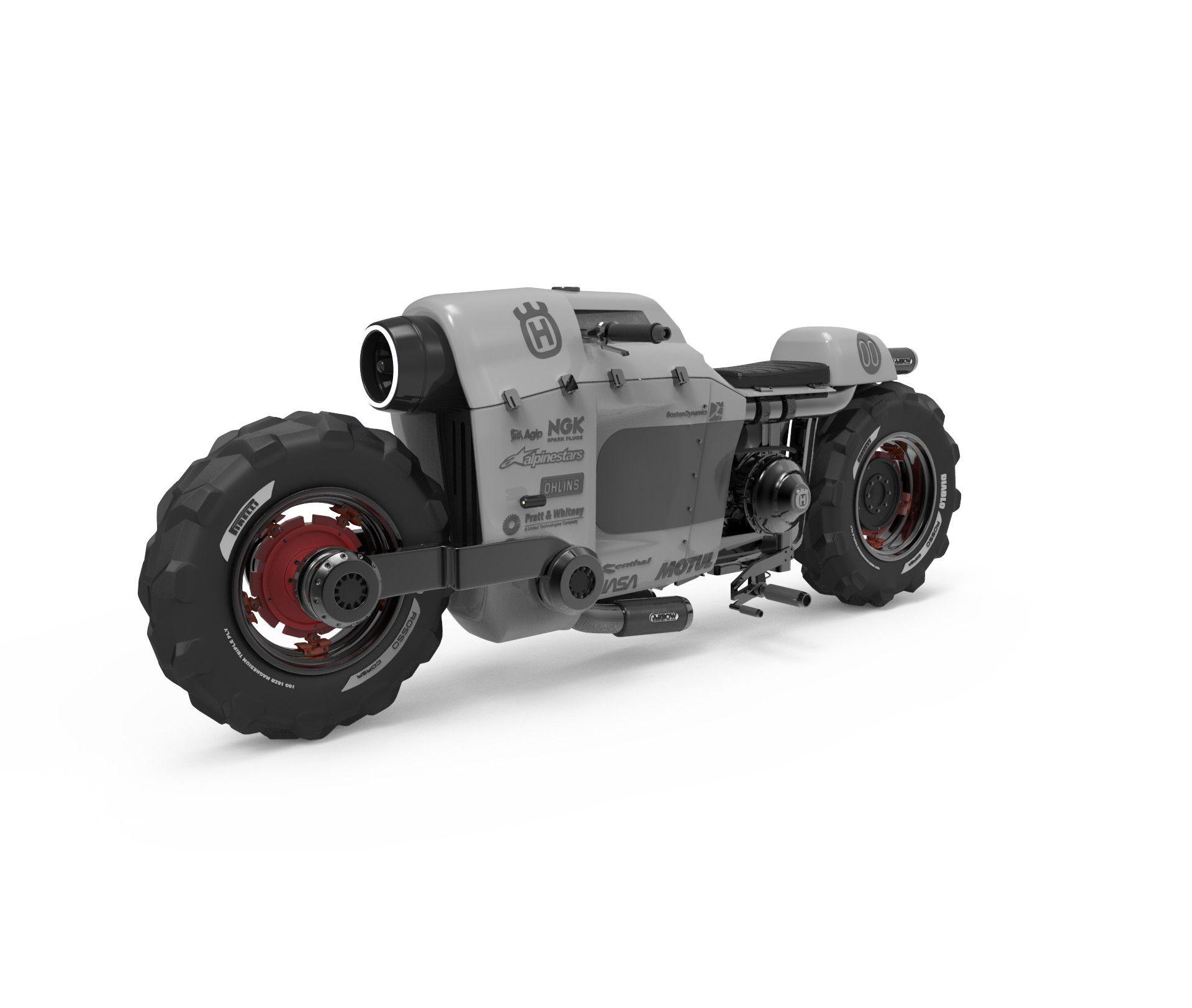 Tractor Wheels Concept : Artstation tractor bike concept albert carranza