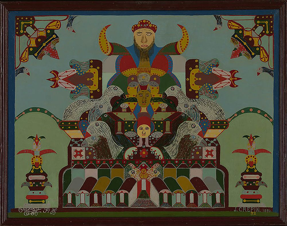 Tableau Merveilleux Nº 32 Marvelous Painting No 32 Fleury