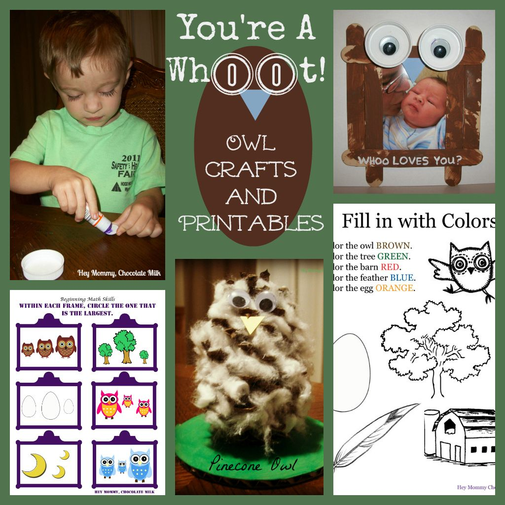 You Re A Whoot With Printables