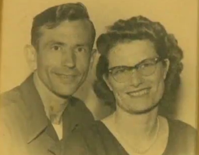 #2-Here they are when they first married: