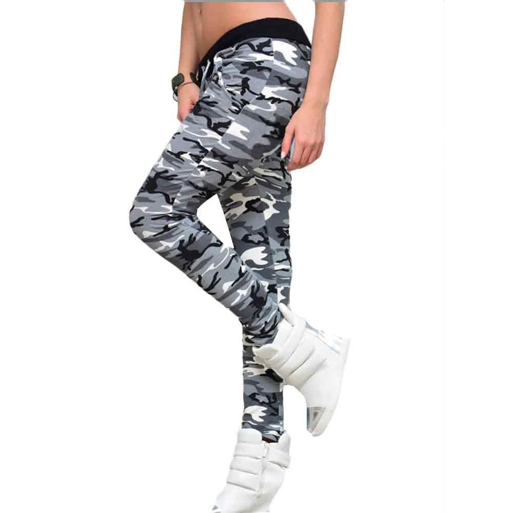 e29c61b6559ca Clearance Sale! Women Pants WEUIE Womens Camouflage Elastic Waistband Yoga  Gym Leggings Fitness Sports Pants XL Multicolor * See this great product.
