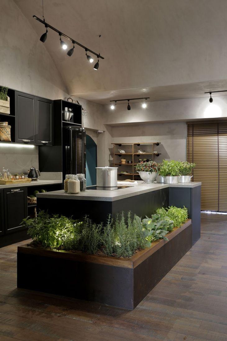 A Vegeta O Integrada Decora O Traz Vida E C Modo Cozinha