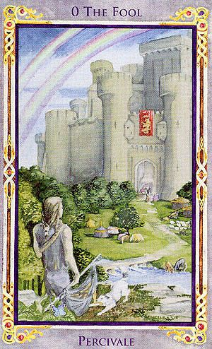 The Fool - Legend: Arthurian Tarot