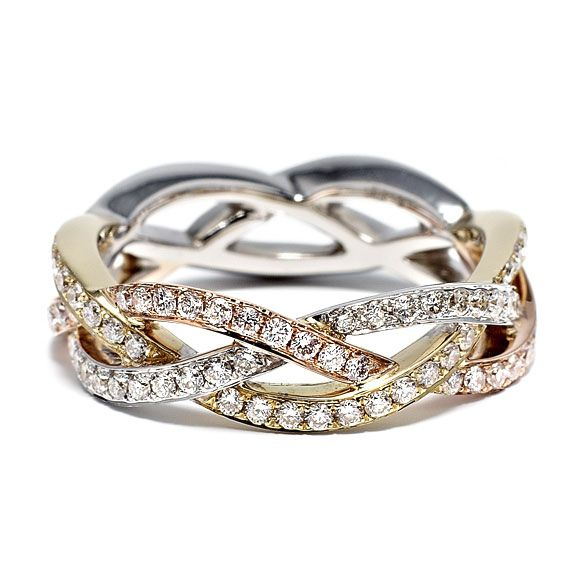 A Cord Of Three Strand Is Not Easily Broken Ecclesiastes Diamond Anniversary Ringsanniversary