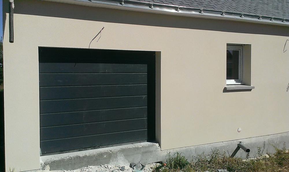 porte de garage grise anthracite acheter avec faire le poireau porte de garage et. Black Bedroom Furniture Sets. Home Design Ideas
