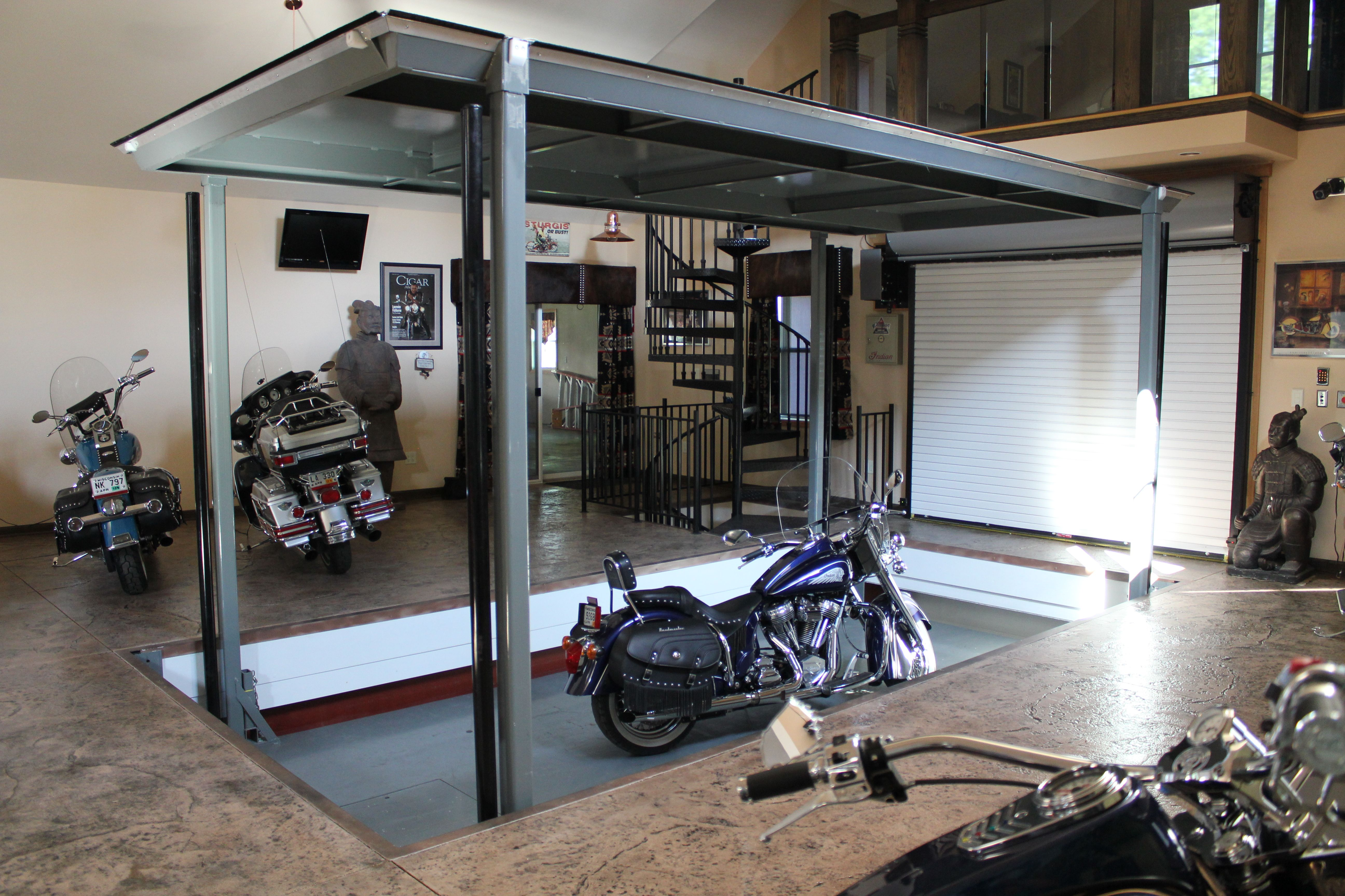 Phantompark Lowering Motorcycle