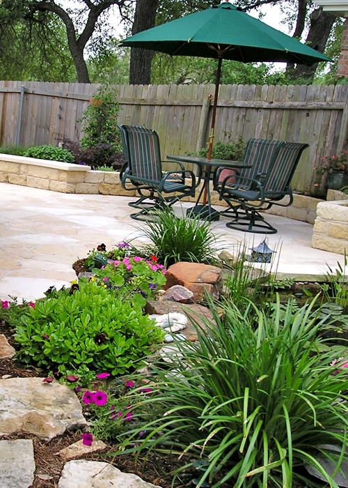 Landscaping Pictures Of Texas Xeriscape Gardens And Much More Here In Austin Small Backyard Gardens Dream Backyard Garden Xeriscape