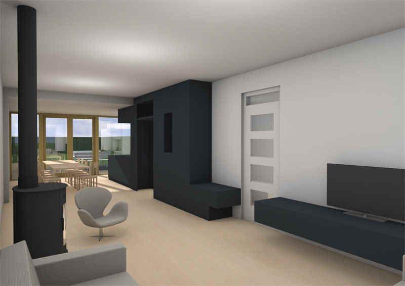 Keuken Design Nijmegen : Verbouw aanbouw keuken zwart nijmegen dick van aken