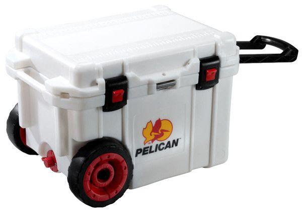 Pelican 45qt Wheeled Elite Cooler My Other Job Pelican Cooler Yeti Cooler Cooler With Wheels