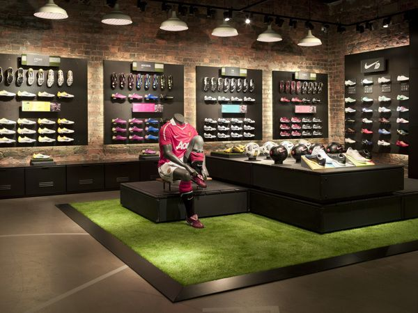 NIKE RETAIL DESIGN on Adweek Talent Gallery | Nike retail, Shoe ...