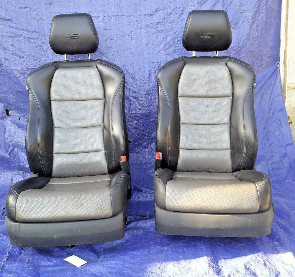 2007-2008 Acura TL Type-S Front Left & Right Seat Set